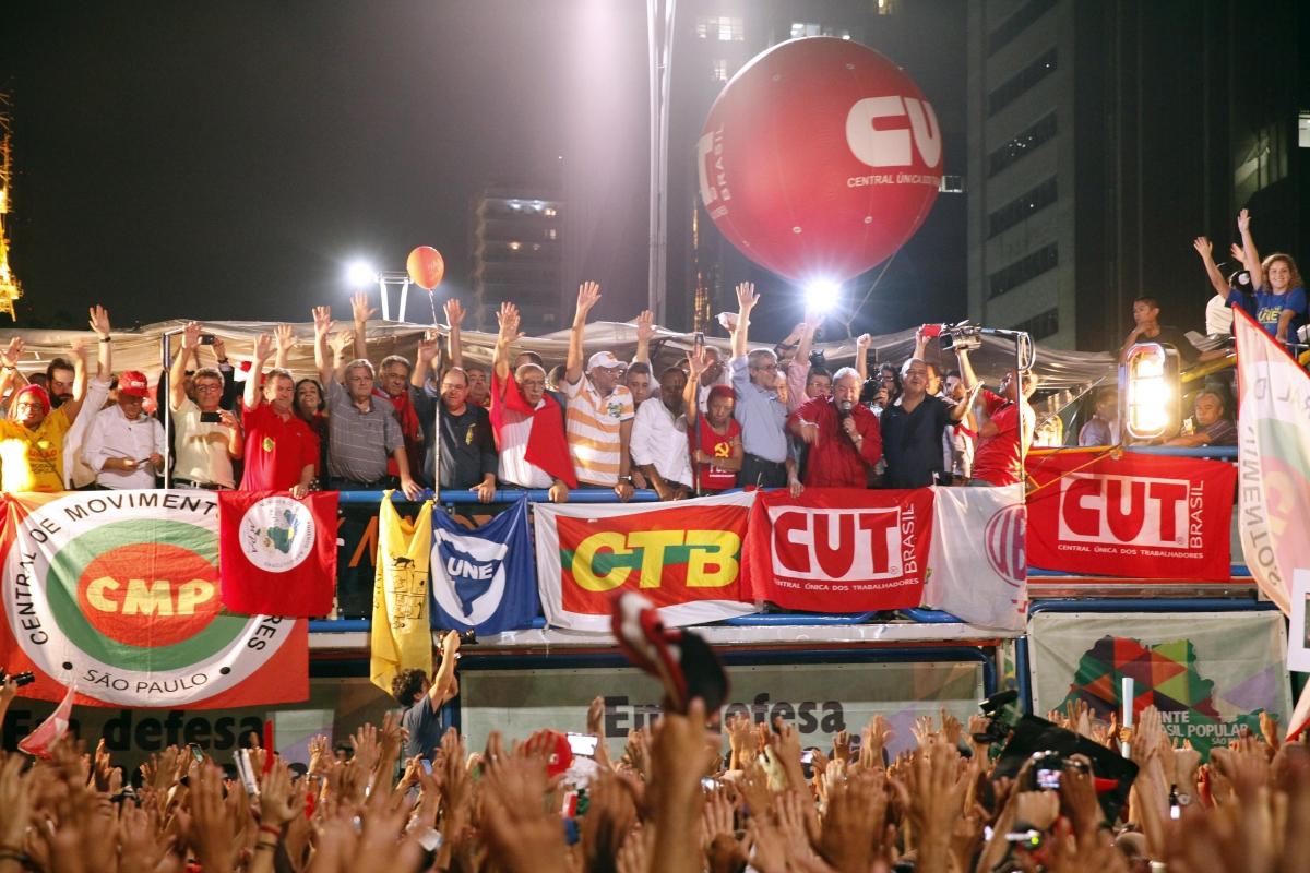 La elección terminó, pero la lucha está apenas comenzando ¡Seguimos de cabeza erguida resistiendo por Brasil!