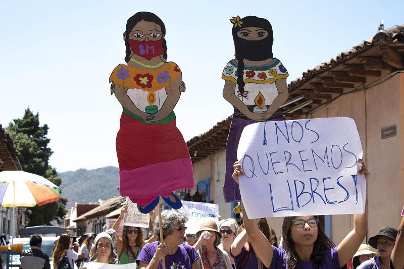 #8M ¡Vivan las mujeres que defienden su territorio, agua, vida, cuerpos y familia!
