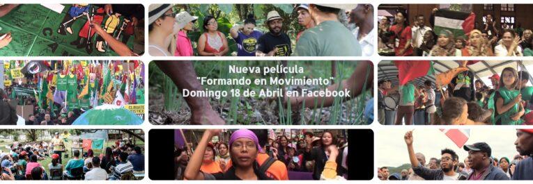 Cine con La Vía Campesina desde Facebook RMR