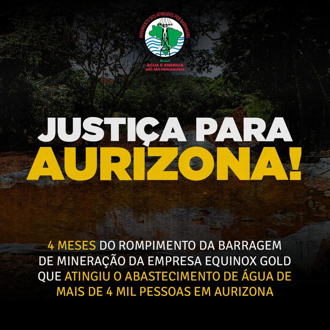 Brasil: nueva arremetida de minera Equinox Gold contra defensores/as del agua en Maranhão