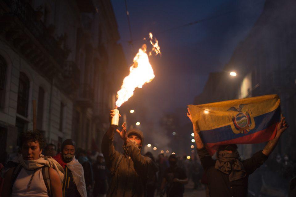 Protestas en Ecuador: comunidades indígenas se movilizan a Quito