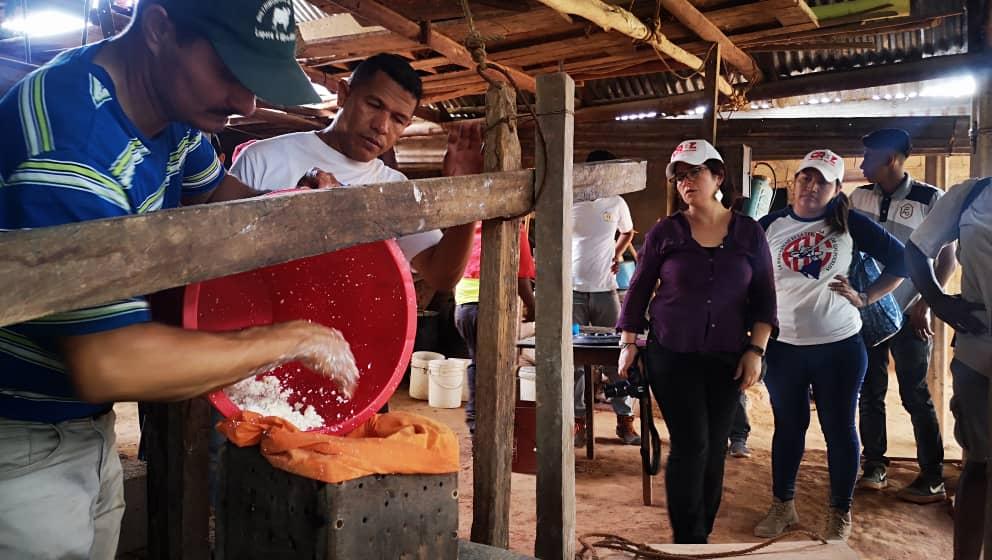 Primer reporte de la I Misión Internacional de Solidaridad de La Vía Campesina en Venezuela