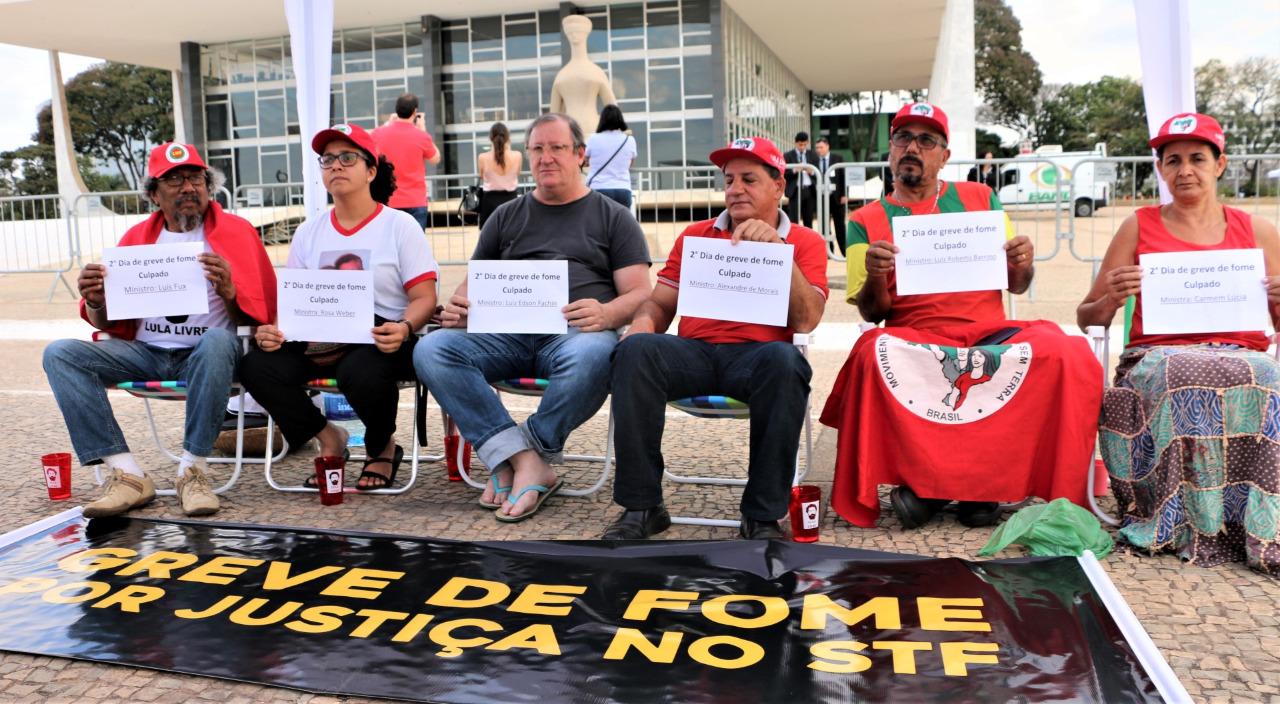 Huelga de hambre contra el hambre