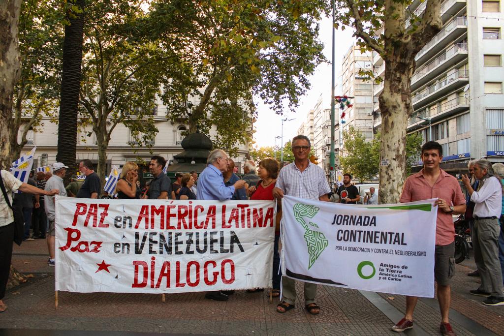 Diálogo y paz para Venezuela