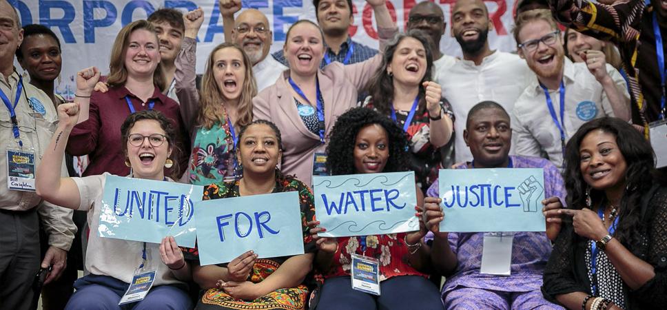El derecho humano al agua