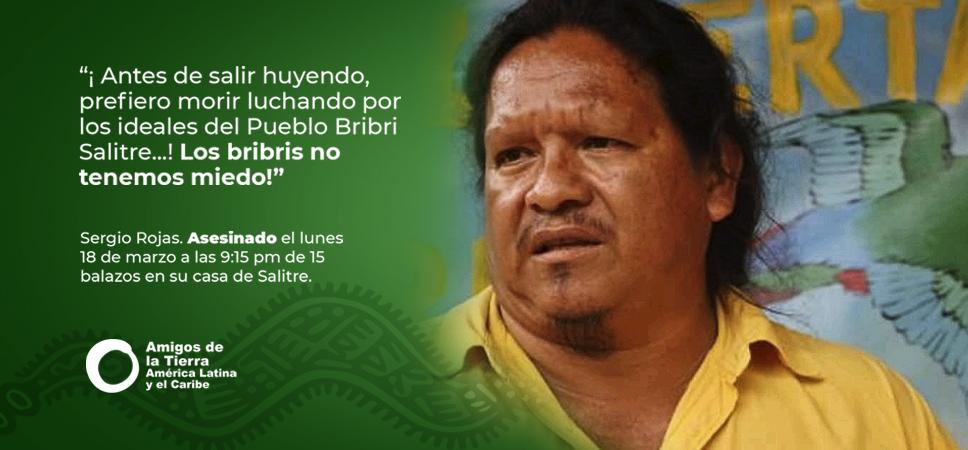 Denuncia y repudio por el asesinato de Sergio Rojas en Costa Rica