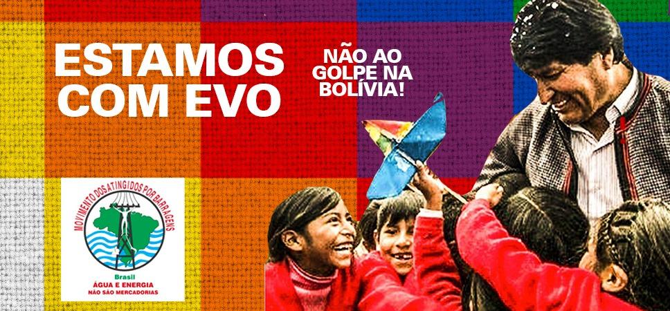 Movimientos populares latinoamericanos repudian golpe de Estado en Bolivia y se solidarizan con el pueblo de ese país