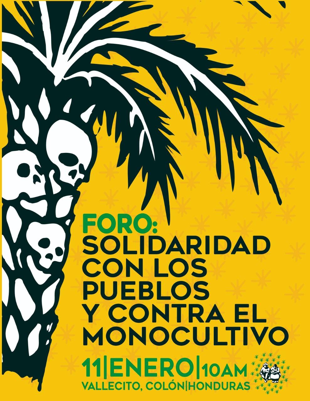 «Es urgente hablar de la palma aceitera en Honduras»