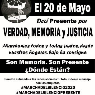 marcha del silencio uruguay 2020 memoria verdad justicia desaparecidos