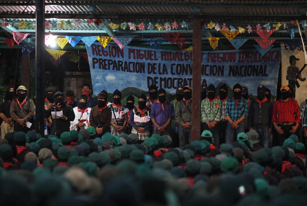 """""""Estamos solos como hace 25 años"""": EZLN"""