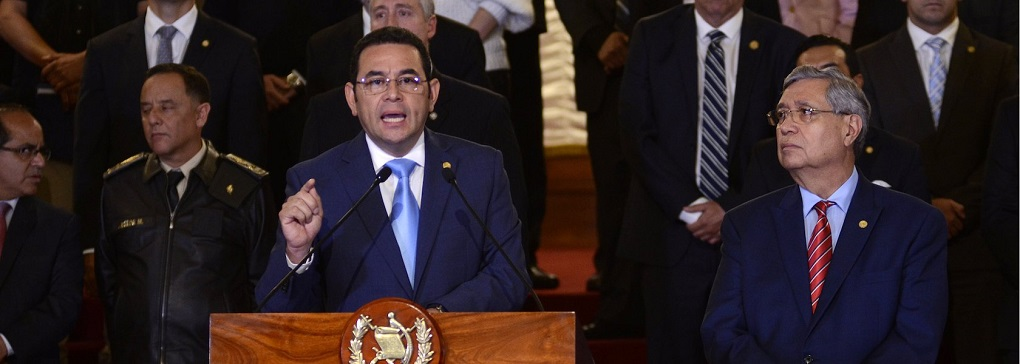 Crisis política en Guatemala