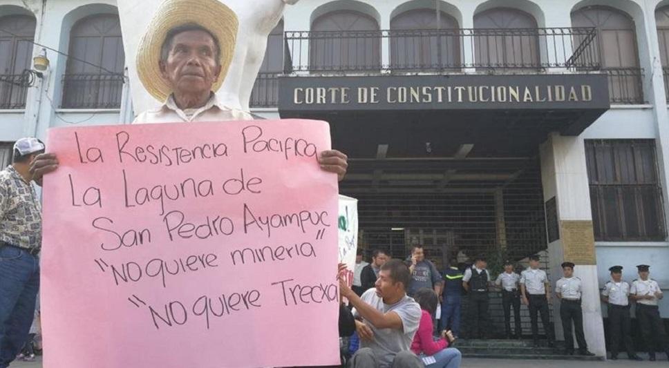 ATALC y otras organizaciones rechazan demanda millonaria de minera contra Guatemala