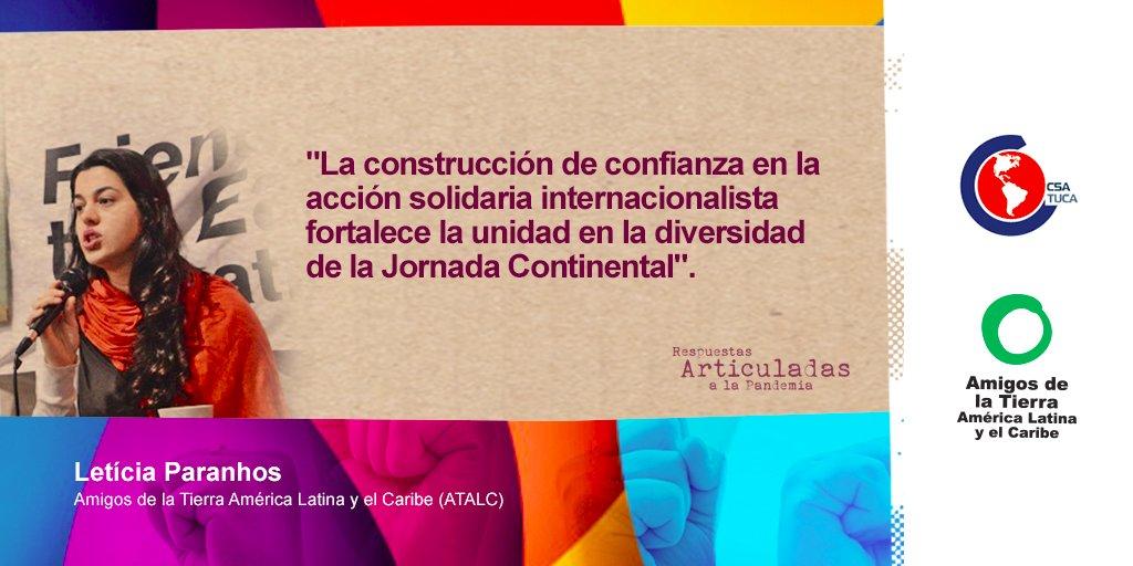 """Jornada Continental destacó """"respuestas articuladas a la pandemia"""" en Latinoamérica"""