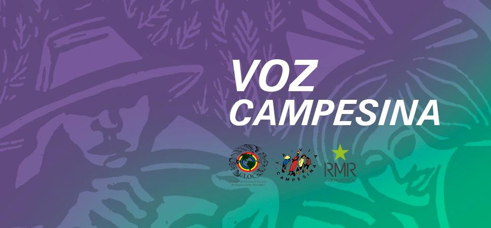 Voz Campesina 75 – ¡Alimentamos los pueblos y construimos Soberanía Alimentaria!
